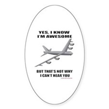 Funny B52 Decal