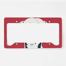 Dalmatian License Plate Holder
