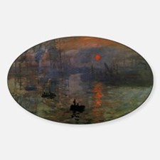 Impression, Sunrise by Claude Monet Decal