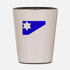 Flag And Name Shot Glass