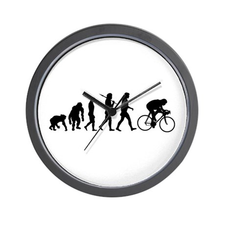 Cycling Evolution Wall Clock