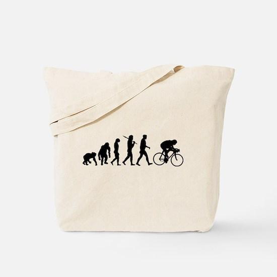 Cycling Evolution Tote Bag