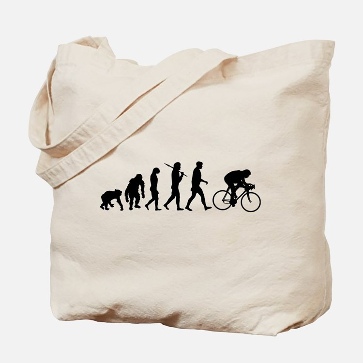Cycling Evolution Tote Bag