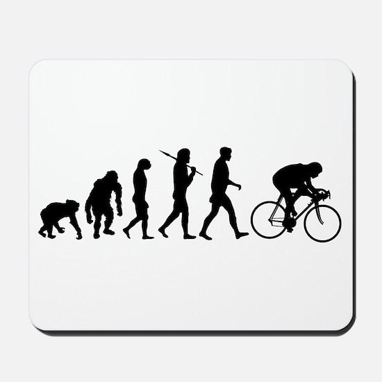 Cycling Evolution Mousepad