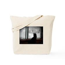 Unique Winter scene Tote Bag