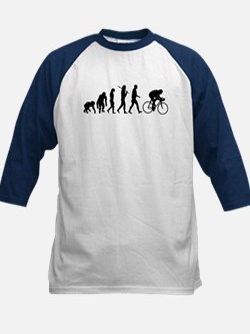 Cycling Evolution Kids Baseball Jersey