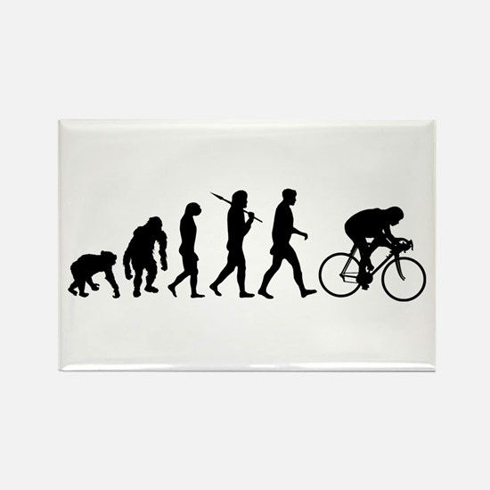 Cycling Evolution Rectangle Magnet (100 pack)