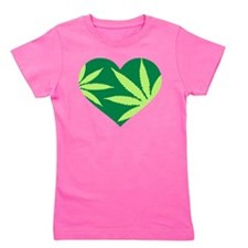 Unique Weed joint Girl's Tee