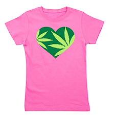 Cool Cannabis Girl's Tee
