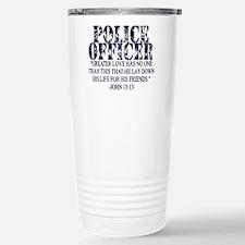 Cute Police prayer Travel Mug