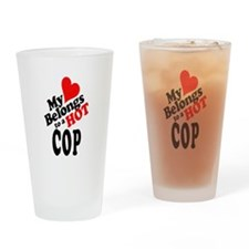 Police support Drinking Glass