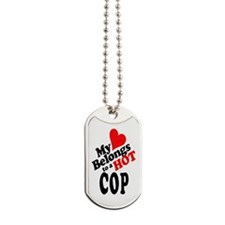 Unique Police wife Dog Tags