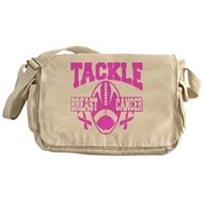 Cute Fight breast cancer Messenger Bag
