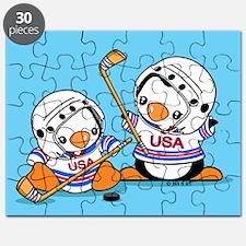 Ice Hockey Penguins Puzzle