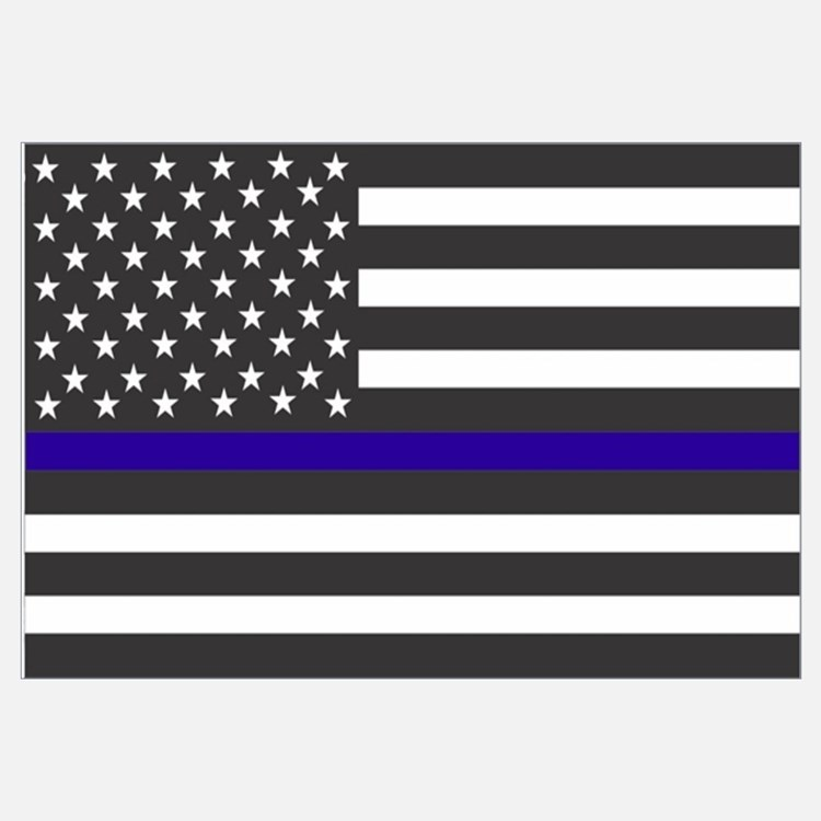 Police Wall Decor support police wall art | support police wall decor
