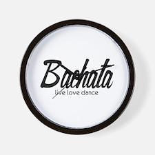 Bachata Live Love Dance Wall Clock