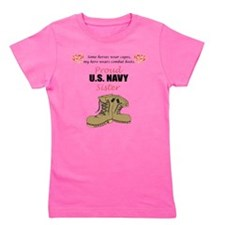 Cute Navy family Girl's Tee