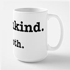 HumanKind. Be Both Large Mug
