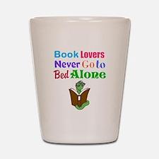 Bookworm Lovers Shot Glass