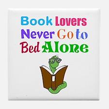Bookworm Lovers Tile Coaster