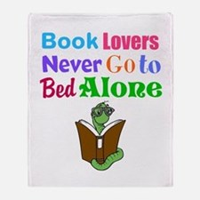 Bookworm Lovers Throw Blanket