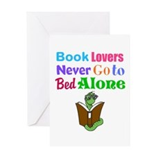 Bookworm Lovers Greeting Cards
