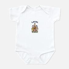 Laval Coat of Arms Infant Bodysuit