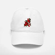Snow Cardinals Baseball Baseball Cap