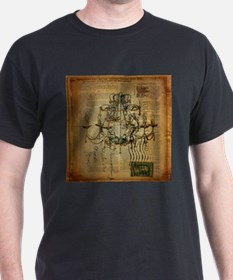 french scripts vintage chandelier T-Shirt