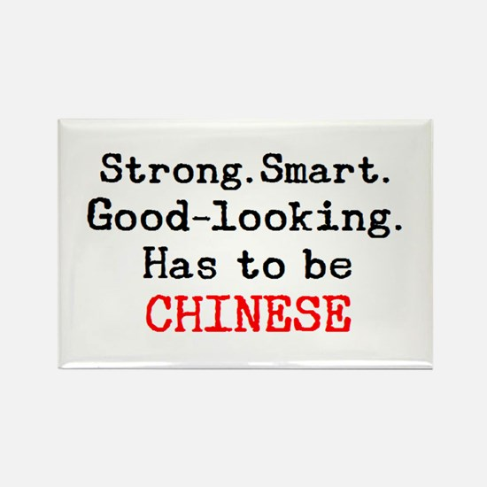 be chinese Rectangle Magnet