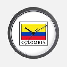 Colombia Wall Clock