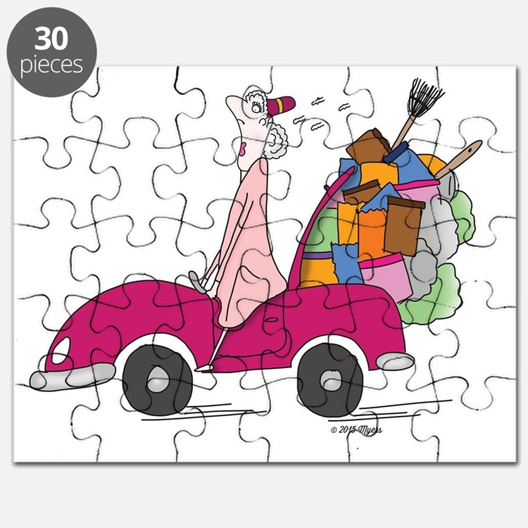 Cute New address Puzzle