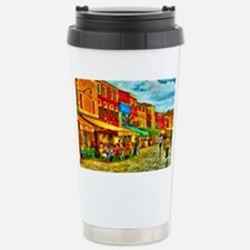 Italy Street Scene Stainless Steel Travel Mug