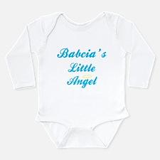 Cute Little angel Long Sleeve Infant Bodysuit