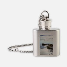 Bright Beach Flask Necklace