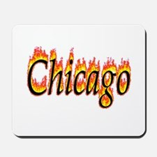 Chicago Flame Mousepad