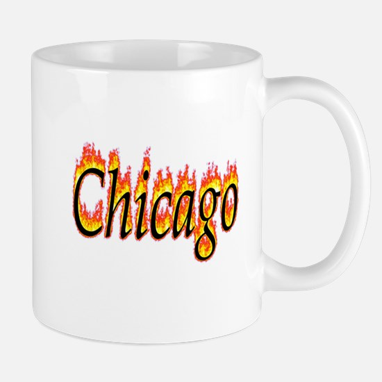Chicago Flame Mugs