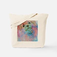 Watercolor Tibbie Tote Bag