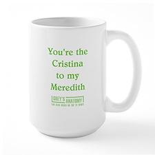 CRISTINA/MEREDITH Mug