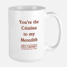 CRISTINA/MEREDITH Ceramic Mugs
