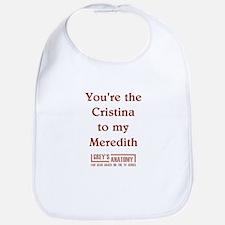 CRISTINA/MEREDITH Bib
