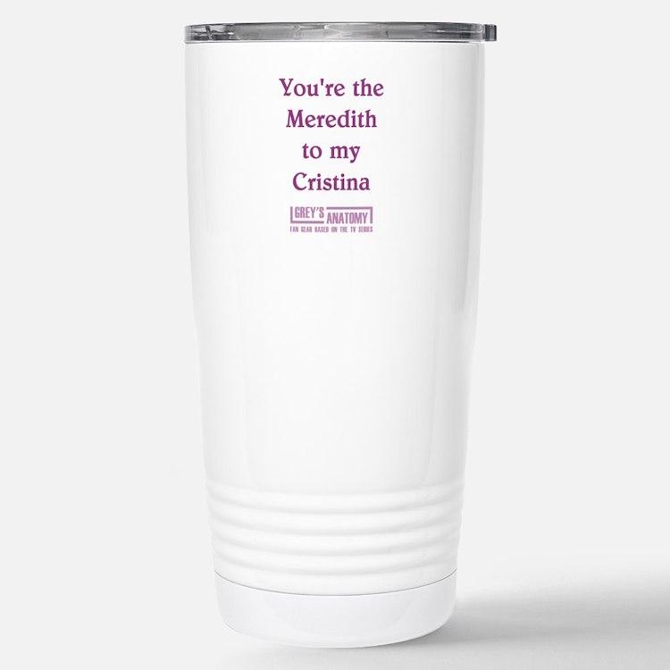 MEREDITH/CRISTINA Travel Mug
