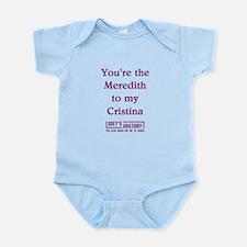 MEREDITH/CRISTINA Infant Bodysuit