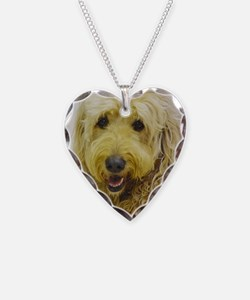 Love That Doodle Necklace Heart Charm