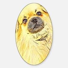 Tibbie Tibbie Sticker (Oval)