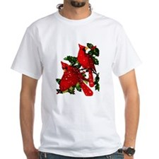 Snow Cardinals Shirt