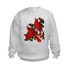 Snow Cardinals Sweatshirt