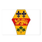 Quebec Coat of Arms Postcards (Package of 8)