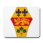 Quebec Coat of Arms Mousepad