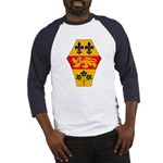 Quebec Coat of Arms Baseball Jersey